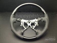 Toyota 2008-11 HILUX VIGO Black PIANO wood leather steering wheel-SPORTS