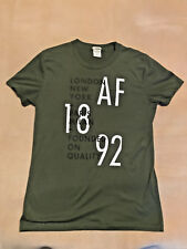 Mens Abercrombie & Fitch T Shirt Size Small Muscle Fit Good Condition