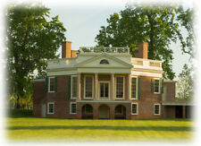 Poplar Forest unique octagon brick country house plan  by Thomas Jefferson