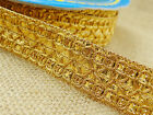 Indian Braided Edging Lace Trim 20.3 Mm Wide Crafting Supply Sewing By 9 Yards