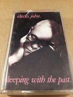 Elton John : Sleeping With The Past : Vintage Tape Cassette Album from 1989