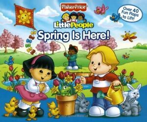Fisher-Price Little People Lift the Flap Book Spri
