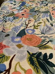 Rifle Paper Co Garden Party King Duvet For Anthropologie Multi Floral Boho