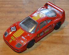 Ferrari F40 Burago des années 1980, vintage 1/43, bon état général (état de jeu)