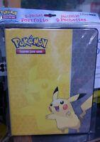 Pokemon Pikachu 9 Tasche per Pagina Cartella Album Raccoglitore Porta Carta