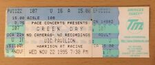 1995 GREEN DAY INSOMNIAC TOUR CHICAGO CONCERT TICKET STUB MIKE DIRNT TRE COOL 16