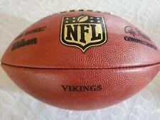 NFL Team Issued Minnesota Vikings Football Autograph Signed Christian Ponder QB