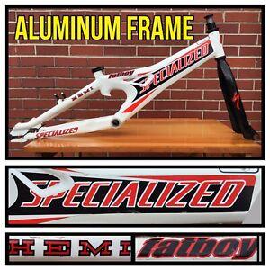 Aluminum Specialized Fatboy Hemi Team Frame and Fork BMX Bike Bicycle Fat Boy