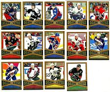 2005-06 UD GOLD RUSH COMPLETE HOCKEY CARD INSERT SET BV$50.00!!!!!!!!