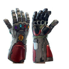 Avengers 4 Iron Man Tony Infinity Gauntlet LED Light Gloves Infinity War Marvel