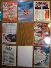CAL RIPKEN mix lot Fleer Stadium Club Iron Man Sports lllustrated reprint