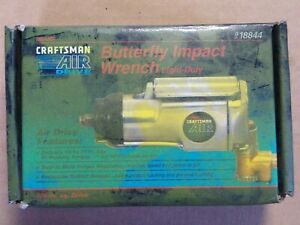"New Craftsman 3/8"" Butterfly Impact Wrench"