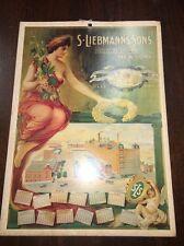 S Liebmann's Sons Brewing Co Print Poster New York Cherub Angel