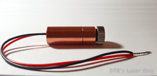 1W NDG7475 520nm Laser Diode In Copper Module W/Leads & Glass Lens