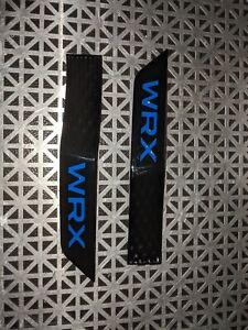 Side Fender Badges For 2015-2020 Wrx Blue set of 2