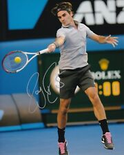 Roger Federer Signed 8X10 Photo Autograph