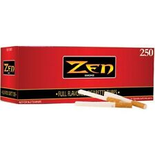 2 BOXES- Zen Full Flavor King Size Tubes-500ct Cigarette Tubes RYO-SAME DAY SHIP