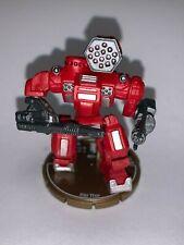 Rare MechWarrior Figure (WizKids, 2007) Thor Miniature + Pilot