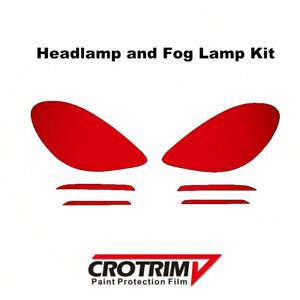 Pro Protection Film Headlight & Fog Light kit For Porsche 718 Boxster Cayman