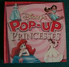 DISNEY'S POP-UP PRINCESSES. Hardback 2002, fully working pop-ups