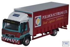 76MAN001 Oxford Diecast MAN L2000 Curtainside Pollock 1/76 Scale OO Gauge