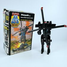Vintage Super GOBOTS Warpath 020 Enemy Robot Apache Copter Tonka 1984 Japan