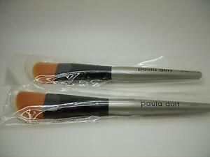 PAULA DORF LOT OF 2 PERFECT CHEEK CREAM BLUSH BRUSH, APPLY CREAM-BASED BLUSH