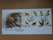 Malaysia 2005 14 May FDC Birds definitive 20 sen to RM 5 (8 Values)