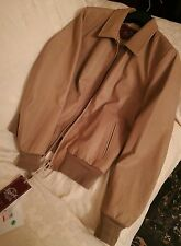 STEWART giubbino jacket pelle  Mastery SLIM  goat glove wash size taglia L NUOVO