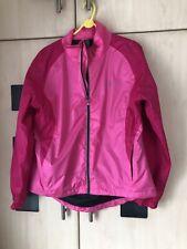 Karrimor Pink  Cycling Jacket Size 16 Lightweight Walking Reflective.  Good Con