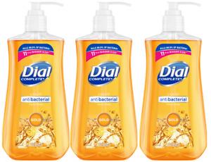 (3 Pack) Dial Gold Liquid Hand Soap 11 oz Each AntiBacKills99%Germs DEAL!!!