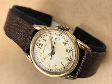Hamilton Watch Co.10k Gold Filled Vintage Wristwatch 987S, Art Deco ca.1948