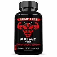 Prime Labs - Men's Test Booster - Natural Stamina, Endurance and Strength Boos..