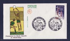 enveloppe 1er jour  championnats du monde  de volley-ball  Paris  1986
