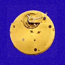 Fattorini of Bradford 17 J Centre Secs Chronograph Pocket Watch Movement 1890