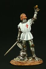 Tin soldier, Collectible, The Knight of the Holy Grail , 54 mm, Medieval
