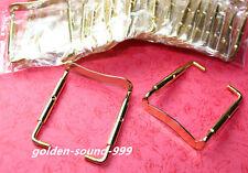 10 pcs chin rest Clamp Screw Viola parts Golden Metal Viola Accessories