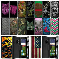 For Samsung Galaxy S9 / S9 Plus, Wallet Case ID Card Holder With Stand Design