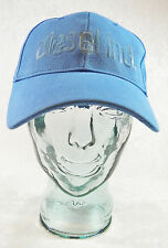 NWT DIESEL IND. BASEBALL HAT CAP BLUE ONE SIZE MADE IN ITALY NEW WITH TAGS