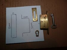 BRASS CABINET / DRAWER LOCK