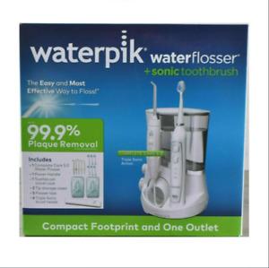 Waterpik Waterflosser + Sonic Toothbrush Set White