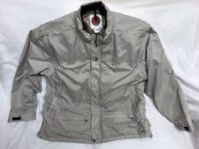 Scottevest mens TEC jacket 2XL Lots of pockets, removable sleeves Light Gray