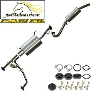 Exhaust System with bolts and hangers fits 01-04 Nissan Pathfinder QX4