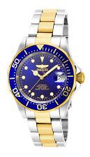 Relógio masculino Invicta Pro Diver Automático com mostrador azul em dois tons e pulseira de aço 17042
