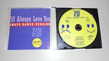 Single CD Tears N´Joy - I will always love you  4.Tracks  1993  MCD SO 5