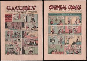 Fumetti-G. I. Comics For The Armed Services Distribuito ai marines USA 1946