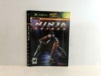 Ninja Gaiden Original Xbox Black Label Artwork ONLY Insert AuthenticF