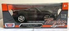 Motor Max Porsche 911 Turbo Cabriolet 1/18 Scale Timeless Legends Die-Cast NIB