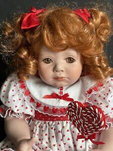 "Marie Osmond Porcelain Doll ""I Love You Lolli"" With Original Box"