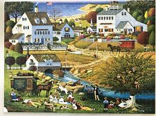 CHARLES WYSOCKI - HOUND OF THE BASKERVILLES - 1000 PC PUZZLE  **COMPLETE**